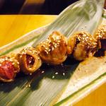 ライノスキッチン - 肉巻きブドウ ¥580