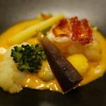 プレスキル - ☆オマール海老と牡蠣季節野菜の軽い煮込み(≧▽≦)/~♡☆