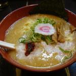 頑々坊子 - とんこつ味噌ラーメン 750円。