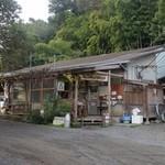 磯沼ミルクファーム - 売店の外観です