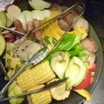 44398756 - 焼き焼きセットの野菜