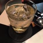 モスクワプリュスシェミ - 梅酒ソーダ