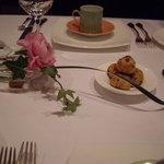 レストラン・モリエール - テーブルの上