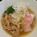 嵐風 - 牛塩らあ麺750円