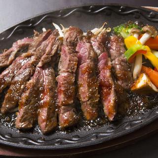 神戸肉匠壱屋で使用しているジューシーで柔らかいロースステーキ