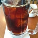 44408353 - アイスコーヒー  (ミックスサンドセット(モーニングメニュー))    ¥730