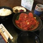天ぷらたくみ - 日替わりの煮込みハンバーグ!