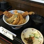 天ぷらたくみ - 天丼850。