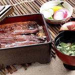 食亭つかさ - コツコツとトボトボと。つかさのうなぎは炭火焼き。つかさのうなぎは炭火焼き。