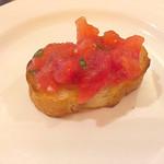 サポリート - トマトとバジルのブルスケッタ