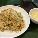紅虎餃子房 - 豚バラ青菜炒飯