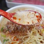 めだかタンタン - 汁あり担々麺のスープ