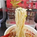 めだかタンタン - 汁あり担々麺の麺