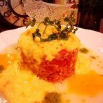 想作酒場 Coeur - 当店オリジナルであり、発祥スタイルのオムライス!!玉子で巻かず、タマゴのソースで食します♪