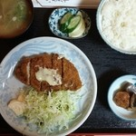 さぶちゃん - チーズカツ定食 1,300円