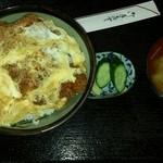さぶちゃん - カツ丼 1,100円