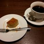 銀座イタリアン ORIGO - ひとくちデザートとコーヒー【2015.11】