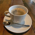 カフェゴーサンブランチ - 2015.11 Cランチのホットコーヒー