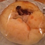 墨繪 - 4種のキノコとカブのカレーパン