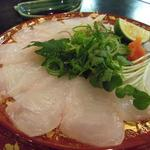 Toramarusuisan - カワハギ刺身(旨いね♪)