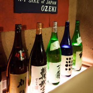 【定番から限定銘柄まで!日本酒にこだわる】飲み比べセットも!