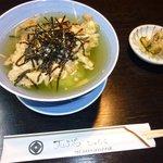 天ぷら じゅらく - 天茶