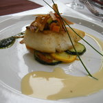 レストラン 客宝館 - 白身魚