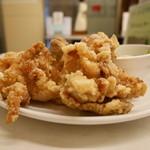 らんまん食堂 - 鶏の唐揚げ・塩