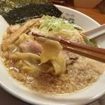 中華そば ムタヒロ 大阪福島店 - ワハハ煮干そば(750円)きしめんリフト