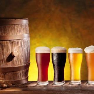 日替わりの樽生クラフトビールが醍醐味