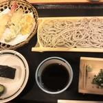 道の駅淡河 そば処 淡竹 - 料理写真:天ソバ