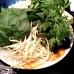 44427434 - お野菜もたっぷり!!