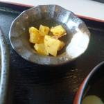 山七商店 - 沢庵美味しい。