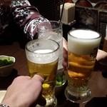 44429801 - 第1回目~私のビールの泡は・・・・私が悪いけど、店も悪いわ