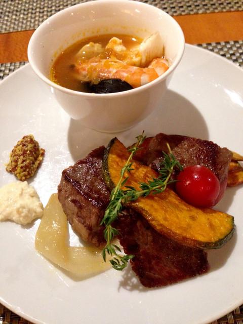 ブラッセリー 「ザ・テラス」 ヒルトン名古屋 - 地中海料理ディナーブッフェ (2015.11現在)