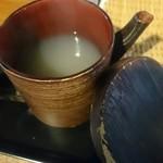 そば切り 温 - 蕎麦湯
