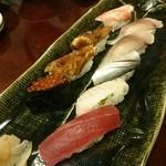 寿司の小林 - 握りはお好みで。