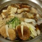 寿司の小林 - 鱈鍋 (すき焼き風)