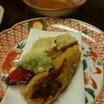 寿司の小林 - 海老いもや椎茸の天ぷら