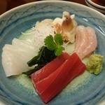寿司の小林 - 刺身盛り合わせ