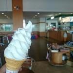 流氷街道網走 - 料理写真:リスの森のソフトクリーム