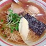 イツワ製麺所食堂 - 醤油ラーメン