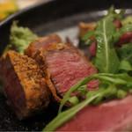 肉屋うたがわ2 - 国産牛ヒレ肉のレアかつ