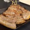 備長焼 鳥助 - 料理写真:巨大な豚バラ串