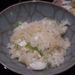 日本料理 晴山 - (2013年4月)メインが生姜で、サブが鯛って感じです(^^)