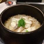 日本料理 晴山 - (2013年4月)淡路島の鯛と生姜の炊き込みご飯!