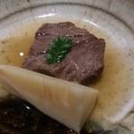 日本料理 晴山 -  (2013年4月)宮崎牛とタケノコ