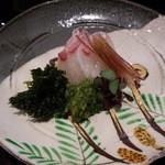 日本料理 晴山 - (2013年4月)お造り