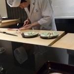 日本料理 晴山 - (2013年4月)大将34歳!若き天才(^_-)