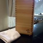 日本料理 晴山 - (2013年4月)ワインクーラーが和風でおしゃれ!